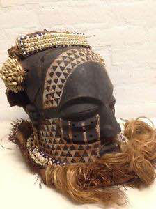 African-BWOOM-mask from D.R.Congo