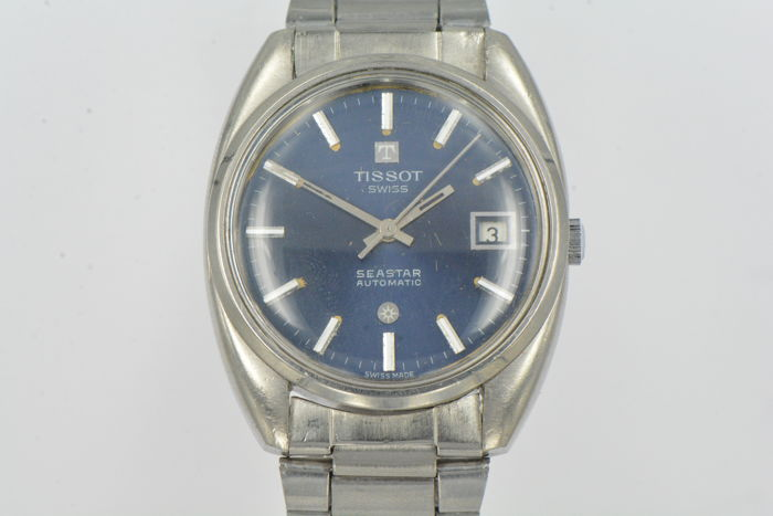 Tissot Seastar Automatic – men's wristwatch – 1974