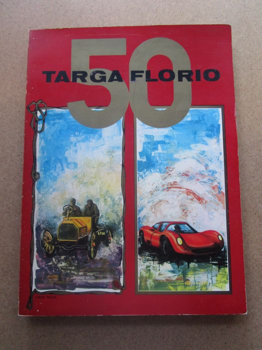 Official book - 50th Targa Florio - 1966