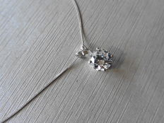 Platinum Diamond Pendant  - 0.33ct