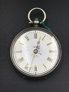 Anonymous Swiss watch with hand-painted dial
