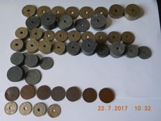 Belgium – 2 centimes up to 5 francs, 1862/1946 (150 pieces)