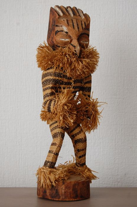 Costume Doll Minganji -  DR of the Congo (Pende tribe) - Mid 20th century