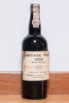 1958 Vintage Port Borges - 1 bottle