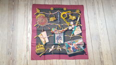 """Hermès - Collector's:  """"Memories of Hermès"""" silk scarf designed by Cathy Latham"""