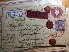 World 1873/1940 - 49 postal items