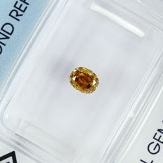 Champagne diamond – 0.36 ct no reserve price