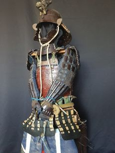 Japanese Samurai Armour end Edo period