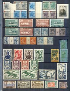 World 1850s/1950s - Large Accumulation