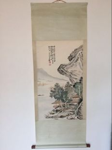 Scroll painting, modern reproduction - China - late 20th century