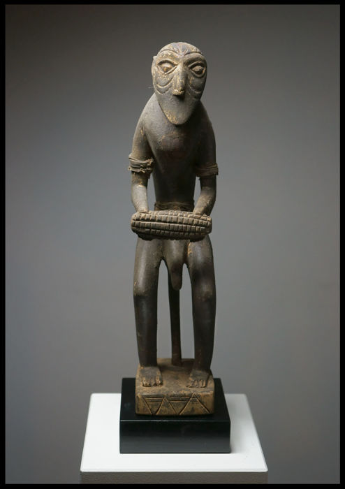 FON Monkey Fetish Figure, Benin / Togo / Rare!