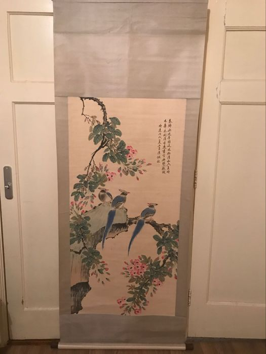 Flower and bird painting – China – late-twentieth century
