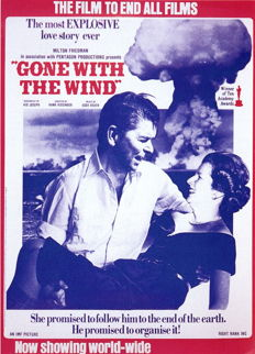 """Anonymous - Reagan & Thatcher """"Gone With The Wind"""" - 1982"""