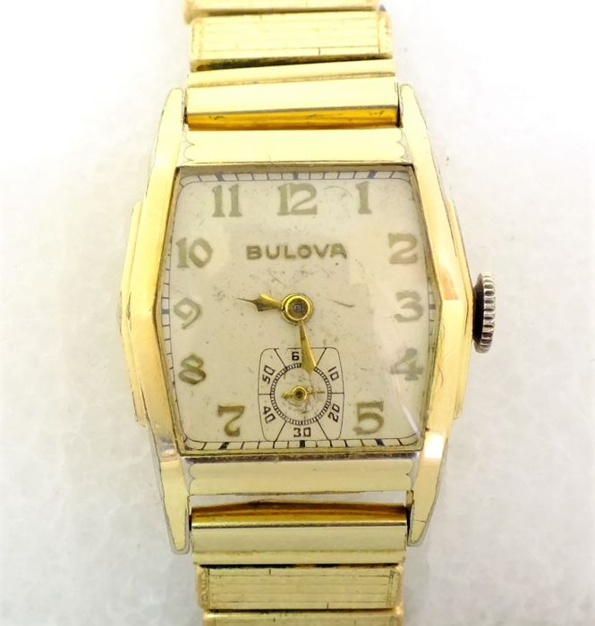 "Bulova ""Commander"", 1936 - Men's watch"