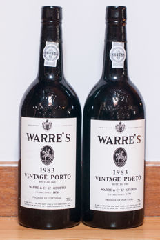 1983 Vintage Port Warre's - 2 bottles