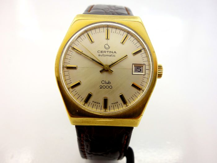 Certina Club 2000 Vintage Men's WristWatch 1960's