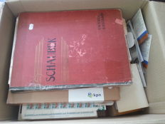 World – Unsorted batch in album, stock book, boxes, etc.