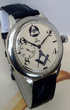 Omega - Masonic - men's marriage watch - 1901-1949