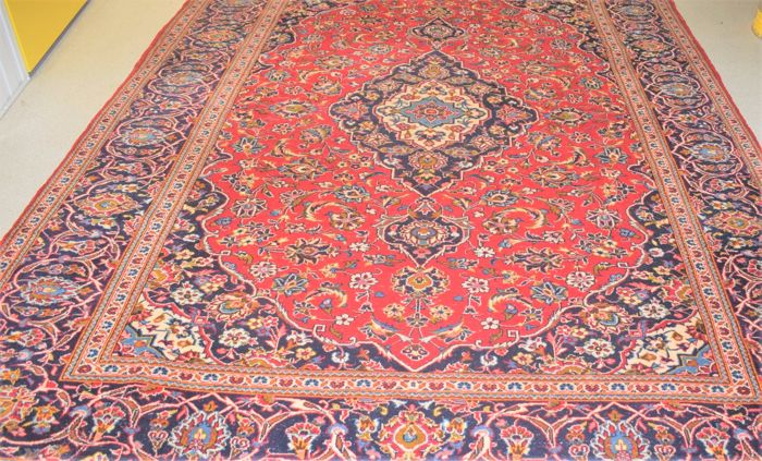 Beautiful Persian Kashan, 2nd half 20th century - around 1970 - 335 x 250 cm