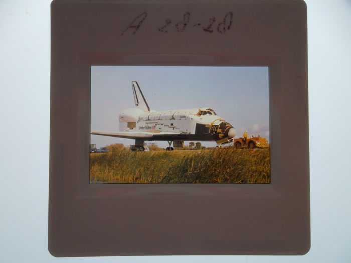Space Shuttle Columbia: 24 colour slides
