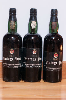 1965 Vintage Port Messias Quinta do Cachão - 3 bottles (75cl)