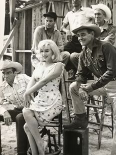 Elliot Erwitt (1928-)/United Artists - Marilyn Monroe and others - 'The Misfits', 1960