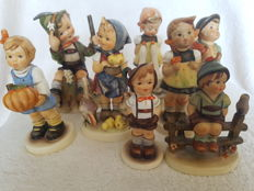 Goebel Hummel - collection of 8 M.I. Hummel Figurines