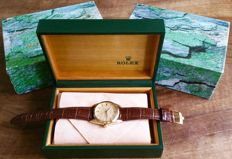 Rolex Oyster Date Precision 6694 gold-plated from 1959 with Rolex box