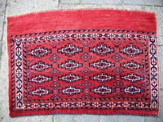 Antique hand-knotted Yamout turkmen - 105 x 72 - Russia - Approx. 1900
