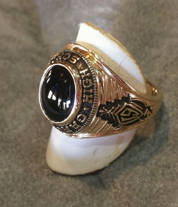 Gar-Field High School 1964 men's ring, Virginia
