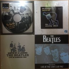 Great collection of The Beatles II 4 LP's II Mint in sealing