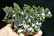 Large Epidote Crystal Cluster - 150 x 69 x 83 mm --516 gm