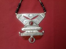 Tuareg necklace - Silver tested as grade 800