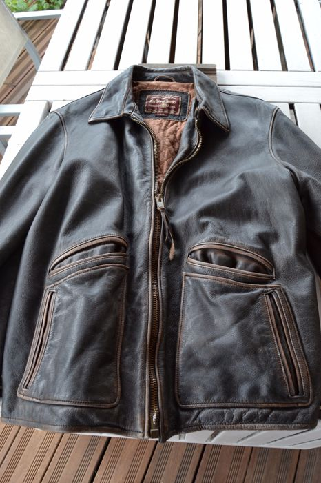 Marlboro Classics - leather jacket