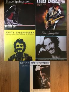 Great collection of Bruce springsteen live II 5 LP's II Mint in sealing