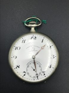 Election pocket chronometer watch, Switzerland, early 20th Century