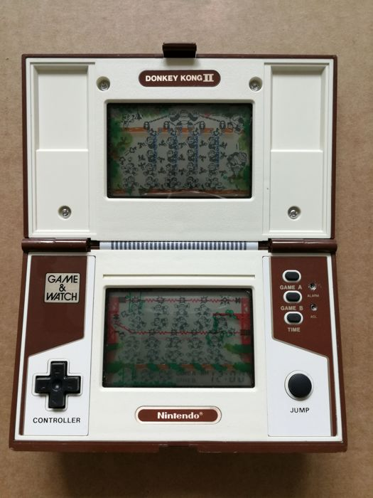game watch nintendo donkey kong jr ii jr55 catawiki. Black Bedroom Furniture Sets. Home Design Ideas