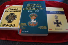 Deutsche Orden und Ehrenzeichen 1800-1945 (OEK) 20th edition + Deutsche Orden und Ehrenzeichen 1800-1945. Germany catalogue 2005/2006 + Valuation catalogue Germany 1871-1945 Deutsche Orden und Ehrenzeichen (Orders and decorations) - Detlev Niemann paperba