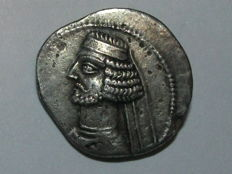 Ancient Greece - Parthian Empire - Orodes II (c. 57-38 BC) - Drachma AR