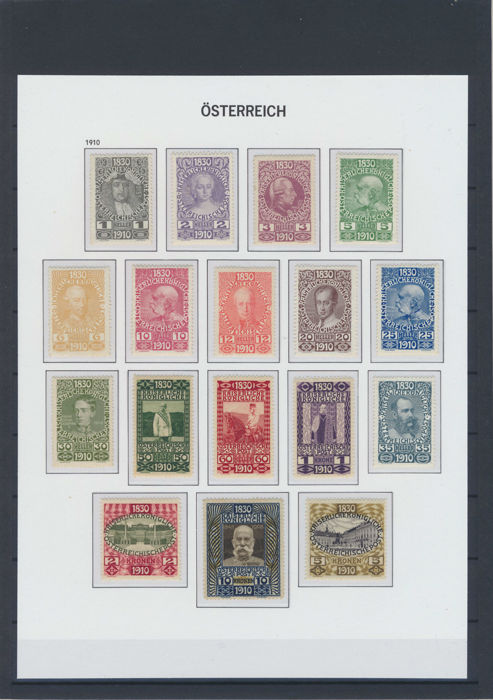 Austria 1910/1937 – Collection