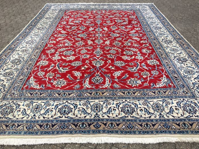 Persian NAIN - with certificate of authenticity - approx. 348 x 250 cm - 21th