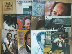 Merle Haggard - Lot Of 16 Albums (1973 - 1987)