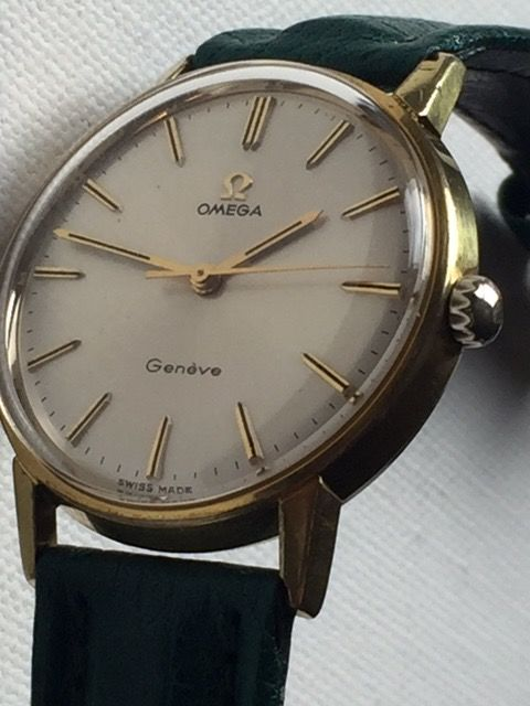 Omega-Geneve-Caliber 601-Men's-Rear