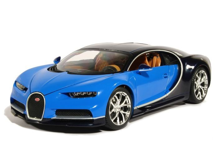 bburago scale 1 18 bugatti chiron blue catawiki. Black Bedroom Furniture Sets. Home Design Ideas