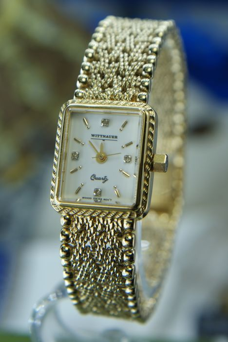 Wittnauer - Swiss Ladie's watch with Diamonds