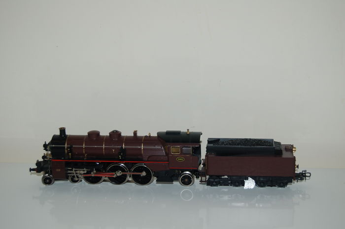 Märklin H0 - 3111 - Steam locomotive with tender type 59 of the Belgian Railways