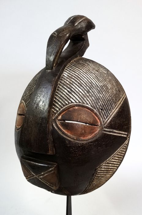 African Kifwebe face mask of the Songye tribe