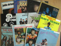 Lot of 18 LP Albums By 60's Bands & Singers