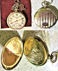 Election pocket watch – Chronometer and fob – Ca. 1890