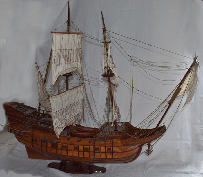 Wooden replica of the Spanish galleon San Francisco
